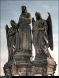 Image for St. Francis Seraphicus  on Charles Bridge / Sv. František Serafínský na Karlove moste (Prague)