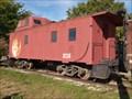 Image for Ann Arbor Railroad System caboose AA 2834 - Zanesville, Ohio