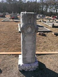 Woodmen of the world memorial, Nazareth United Methodist church cemetery - Saluda County, SC