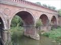 Image for Rail Viaduct over the River Mole, Leatherhead, Surrey. UK