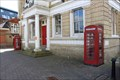 Image for Red Telephone Boxes - Old Town Hall, Staines, Surrey, UK