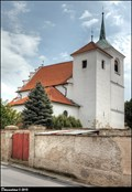 Image for Kostel sv. Gotharda / Church of St. Gotthard - Brozany nad Ohrí (North Bohemia)