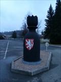 Image for Karlštejnské šachy (28) - cerný král / Chess of Karlstein castle - black king (Karlštejn, Czech Republic)