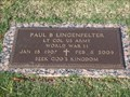Image for 102 - Paul B. Lingenfelter - Chapel Hill Cemetery - OKC, OK