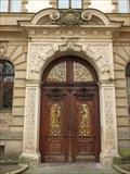 Image for Two doorways at the inner south wing  of castle St. Emmeram, Regensburg - Bavaria / Germany