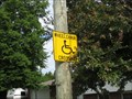 Image for Wheelchair Crossing - Lasalle, Ontario