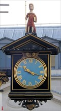 Image for St James Garlickhythe Clock - Garlick Hill, London, UK