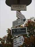 Image for Direction and Distance Arrow - Moravany, Czech Republic