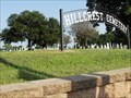 Image for Hillcrest Cemetery - Canton, TX