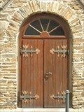Image for Doorway of St. Luzia & Agatha church in Rech - RLP / Germany