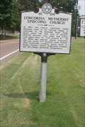 Image for Concordia Methodist Episcopal Church - 4E134 - Braden, TN