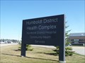 Image for Humboldt District Health Complex - Humboldt, Saskatchewan