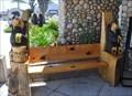 Image for Black Bear Bench #2