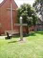 Image for Wooden Cross - Grace Episcopal Church, Alvin, TX