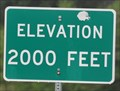 Image for Spirit Lake Memorial Highway ~ Elevation 2000 Feet