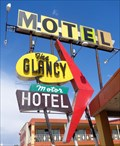 Image for Glancy Motor Hotel - Googie Architecture - Clinton, Oklahoma, USA.