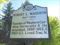 Image for ROBERT L. MADISON 1867-1954 - Q-48