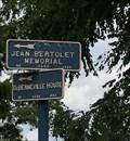 Image for Jean Bertolet Memorial/DeBenneville Marker