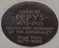 Image for Samuel Pepys - Buckingham Street, London, UK