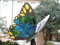 Image for Genus Kaleidoscopus - Butterfly - City Hall, Lakeland, Florida. USA.