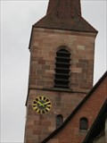 Image for Clock on St. Bartholomäus Church - Nürnberg, BY, Germany