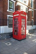 Image for Red Telephone Box - Bethnal Green Road, London, UK