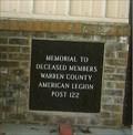 Image for Deceased Members - Warrenton, MO