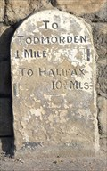 Image for Milestone - Halifax Road, Todmorden, Yorkshire, UK.