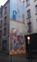 Image for Comic-walls in Brussels - Jojo