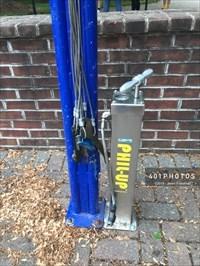 RepairSTAN at Kirkbride Hall tire pump