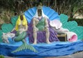 Image for King Neptune and the Mermaid - Weeki Wachee, FL