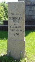 Image for Kön.Sächs. Triangulierungsstein von 1876 - Plauen  i. V./Germany/SAC