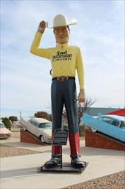 Muffler Man - 2nd Amendment Cowboy - Amarillo, TX - Roadside