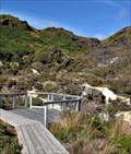 Image for Silica Rapids Lookout. Mt Ruapehu. North Is. New Zealand.