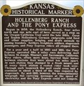 Image for Hollenberg Ranch and The Pony Express - Kansas