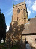 Image for Bell Tower, All Saints Church, Shelsley Beauchamp, Worcestershire, England