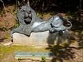 Image for Bronze Lion - Oakwood Cemetery, Syracuse, New York