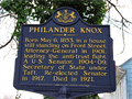 Image for Philander Knox