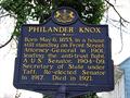 Image for Philander Knox