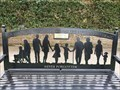 Image for COVID-19 Silhouette memorial bench - East Grinstead, West Sussex, UK