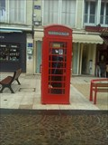 Image for Red Phone Box in Beauvais - Beauvais, France