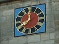 Image for Clock at the Stephanuskirche - Echterdingen, Baden-Württemberg