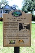 Image for Safety Harbor Historical Site: Tucker Mansion