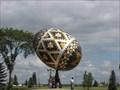 Image for World's Largest Easter Egg (Pysanka) - Vegreville, Alberta
