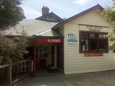 The weatherboard building of a Post Office.1056, Sunday, 30 December, 2018