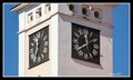 Image for Clock on the old Town Hall - Rícany, Czech Republic