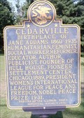Image for Jane Addams - Cedarville, IL