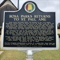 Image for Rosa Parks Returns to St. Paul AME - Montgomery, AL