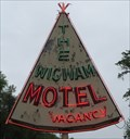 Image for The Wigwam Motel - Artistic Neon - Cherokee, North Carolina, USA.