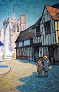 "Image for ""St Marys Square Hitchin"" by Gerard Ceunis – St Marys Square, Hitchin, Herts, UK"